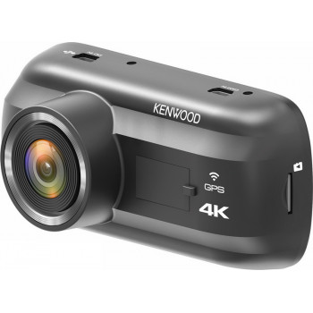 Kenwood 4K Καταγραφική Κάμερα Ταμπλό Αυτοκινήτου με Wifi και GPS
