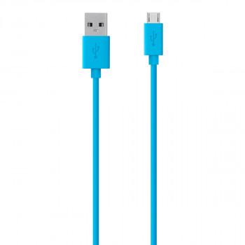 Belkin Καλώδιο Μπλε Φόρτισης Mixit Micro USB σε USB