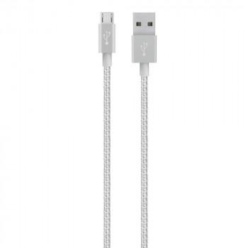 Belkin Ισχυρό Ασημί Καλώδιο Mixit Micro USB σε USB