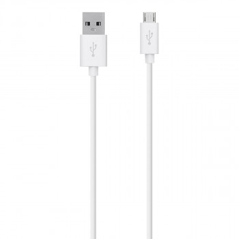 Belkin Ισχυρό Άσπρο Καλώδιο Mixit Micro USB σε USB