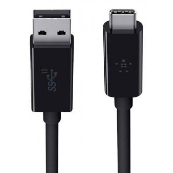 Belkin Καλώδιο Φόρτισης Συνδεσης USB-A 3.1 σε USB-C 10GBPS 1m Black