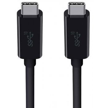 Belkin Μαύρο Καλώδιο 3.1 από USB-C σε USB-C 100W 10GBPS