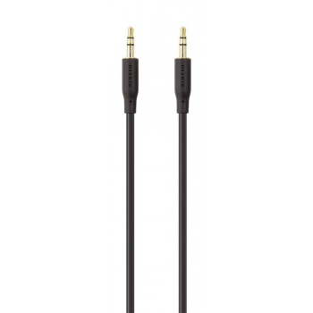 Belkin Καλώδιο Ήχου Ακουστικών Jack Cable με Χρυσή Επικάλυψη 3.5mm 1m Black