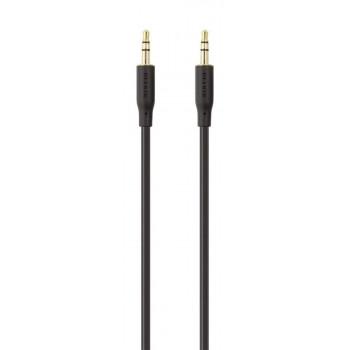 Belkin Καλώδιο Ήχου Ακουστικών Jack Cable με Χρυσή Επικάλυψη 3.5mm 2m Black