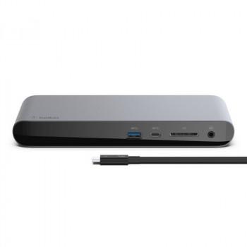 Belkin Thunderbolt 3 Dock Pro Επέκταση Desktop Laptop και Ταχύτητα Μεταφοράς έως 40 GBps