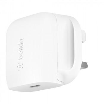 Belkin Φορτιστής Τοίχου USB-C Άσπρος 18W