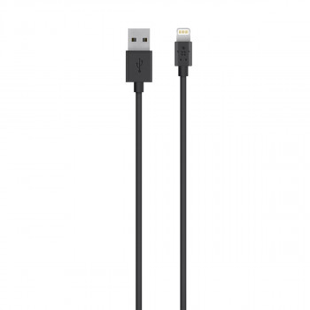 Belkin Καλώδιο Μαύρο Φόρτισης Mixit Apple Lightning σε USB