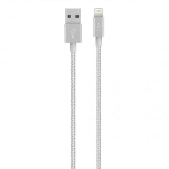 Belkin Ισχυρό Ασημί Καλώδιο Mixit Lightning σε USB-A Cable