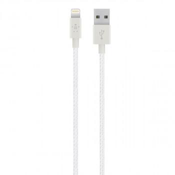 Belkin Ισχυρό Άσπρο Καλώδιο Mixit Lightning σε USB-A Cable