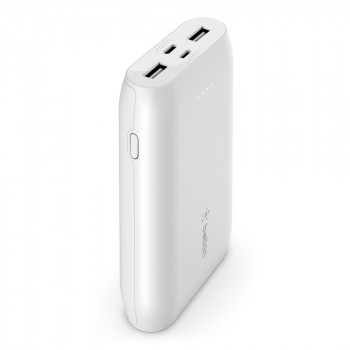 Belkin Βoost Charge Φορητό Power Bank 10000 mAh Multi Port Άσπρο