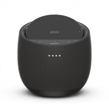 Belkin Ηχείο Soundform Elite Hi-Fi Smart Speaker 30W 90dB και Ασύρματος Φορτίστης Μαύρο Alexa και Airplay 2