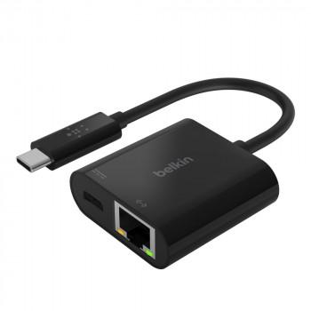 Belkin Αντάπτορας USB-C σε ETHERNET Μαύρο