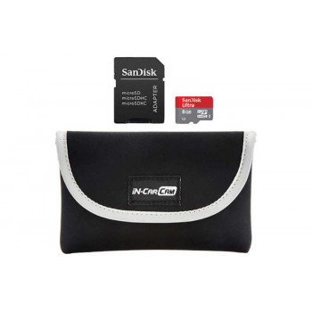 Nextbase Go Πακέτο με κάρτα Micro USB 8GB και θήκη Μεταφοράς
