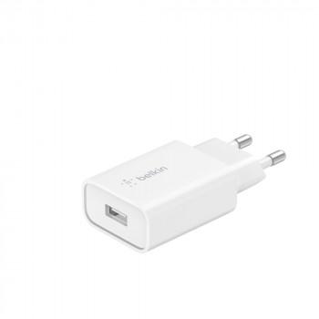 Belkin Boost Quick Charge Φορτιστής Πρίζας Άσπρος Ταχείας Φόρτισης USB-Α 18W