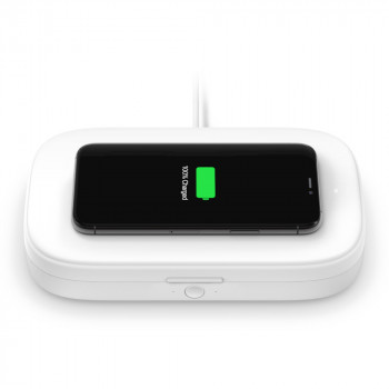 Belkin Boost Charge Ασυρμάτος Φορτιστής και Συσκευή UV Απολύμανσης